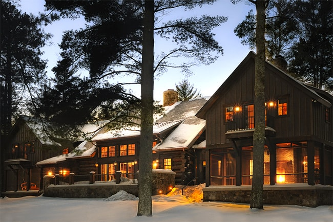 Lodge-Style Lake Home